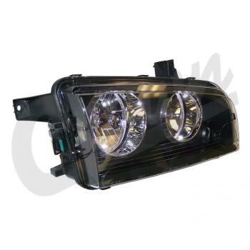 Dodge Headlamp (Right) Part Number 4806164AJ Suit LX Charger 2008-2010