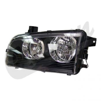 Dodge Headlamp (Left) Part Number 4806165AJ Suit LX Charger 2008-2010