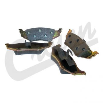 Dodge Brake Pad Set (Rear) Part Number 5011631TI Suits Dodge & Chrysler See Description For More Info
