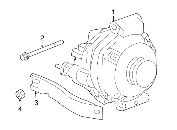 ALTERNATORS - Mopar ARM       4896805AE