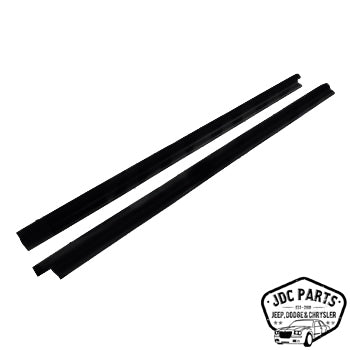 Jeep Door Glass Weatherstrip Kit Part Number 55024254K Suit Jeep CJ-5 CJ-7 CJ-8