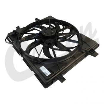 Dodge Fan & Motor Assembly Part Number 55037992AD Suits Jeep & Dodge See Description for More Info