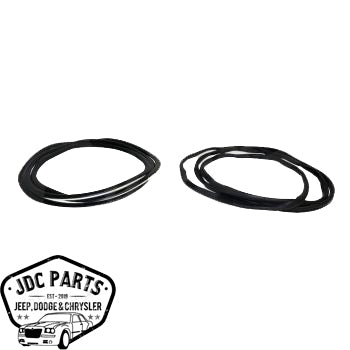 Jeep Windshield Weatherstrip Kit Part Number 55176430K Suit TJ Wrangler 1997-2006