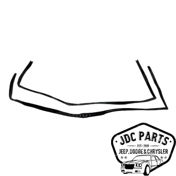 Jeep Door Glass Seal Kit Part Number 55395174K Suit TJ Wrangler 1997-2006