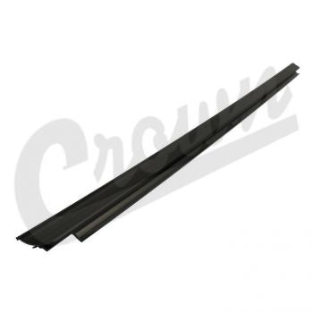 Jeep Door Glass Weatherstrip (Right Outer) Part Number 55395268AD Suit JK Wrangler 2007-2018