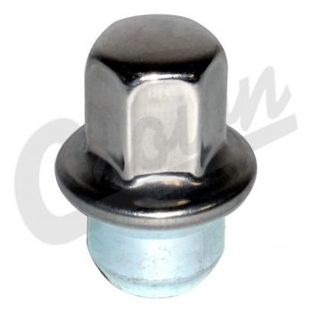 Chrysler Lug Nut (Stainless) Part Number 6504672 Suits Dodge, Chrysler & Fiat See Description For More Info
