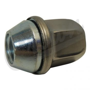 Jeep Lug Nut (Stainless) Part Number 6509422AA Suits Jeep, Dodge & Ram See Description For More Info