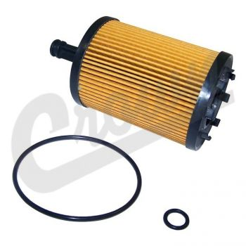 Chrysler Oil Filter Element Part Number 68001297AA Suits Jeep, Dodge & Chrysler See Description For More Info
