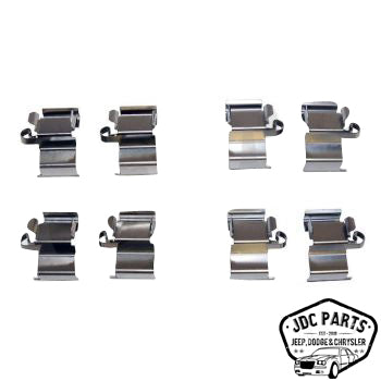 Jeep Brake Pad Spring Kit Part Number 68159523AC Suits Jeep, Ram, Dodge, Chrysler & Fiat See Description For More Info