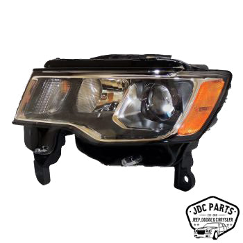 Jeep Headlight (Left) Part Number 68289235AD Suit WK Grand Cherokee 2017-2019