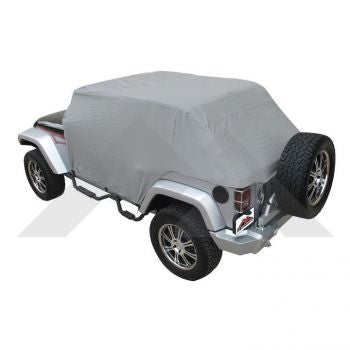 RT Off-Road Cab Cover (Wrangler JK 2-Door - Waterproof) Part Number CC10709 Suit JK Jeep Wrangler 2007-2018