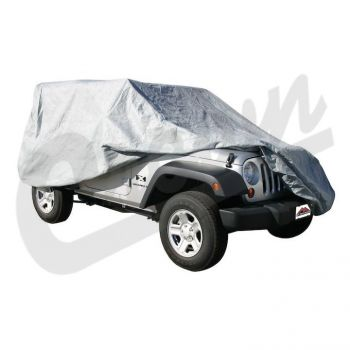 RT Off-Road Full Car Cover (CJ/Wrangler) Part Number FC10009 Suits Jeep & Vintage Jeep See Description For More Info