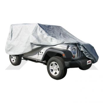 RT Off-Road Full Car Cover (Wrangler JK 4-Dr) Part Number FC10309 Suit Jeep Wrangler / Jeep Renegade JK BU