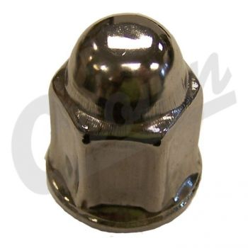 Dodge Lug Nut (Stainless) Part Number J4006956 Suits Jeep, Ram & Dodge See Description For More Info