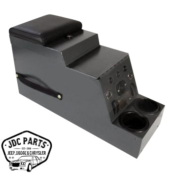 RT Off-Road Locking Center Console Part Number RT27056 Suits Jeep, Vintage Jeep & Universal See Description For More Info