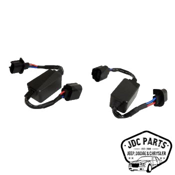 RT Off-Road LED Headlight Adapter Harness Set Part Number RT28098 Suit JK Wrangler 2007-2018