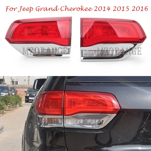 WK Grand Cherokee Limited, Overland, Laredo Inner Tail Light Lamp Garnish's on Tail Gate 05/2013 Onwards