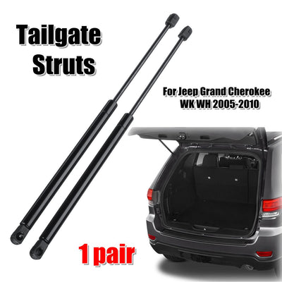 2pcs Rear Tailgate Boot Gas Struts Support For Jeep Grand Cherokee WK 2010 - 2019 68025359AA 55394322AA