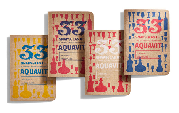 33 Aquavits Journal Cover Designs by 33 Books Co.