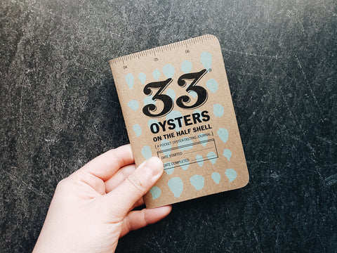 33 Oysters Journal. Photo by Julie Qiu.