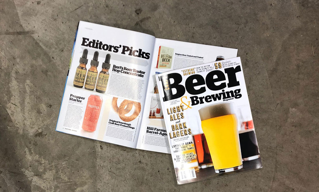 Craft Beer & Brewing Magazine Reviews Bert's Beer Baster™
