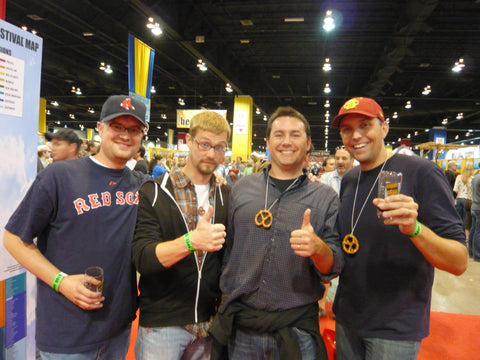 The Four Amigos at GABF