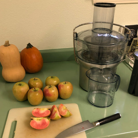 Making Cider at Home with a Secondhand Juicer