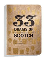 33 Drams of Scotch Tasting Journal