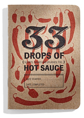 33 Drops of Hot Sauce Tasting Journal