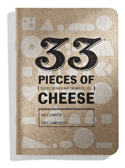 Four cheese journals are included, including two standard cheese journals.