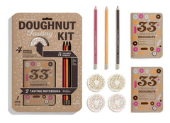 Contents of Doughnut Tasting Kit
