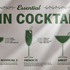 Essential Gin Cocktails Print