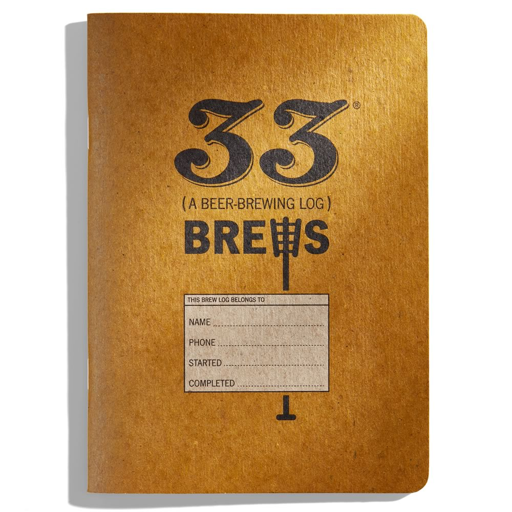 33 Brews: A Home Brew Log