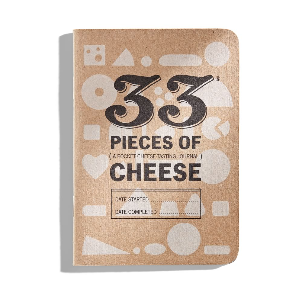 33 Cheeses: a pocket cheese-tasting journal