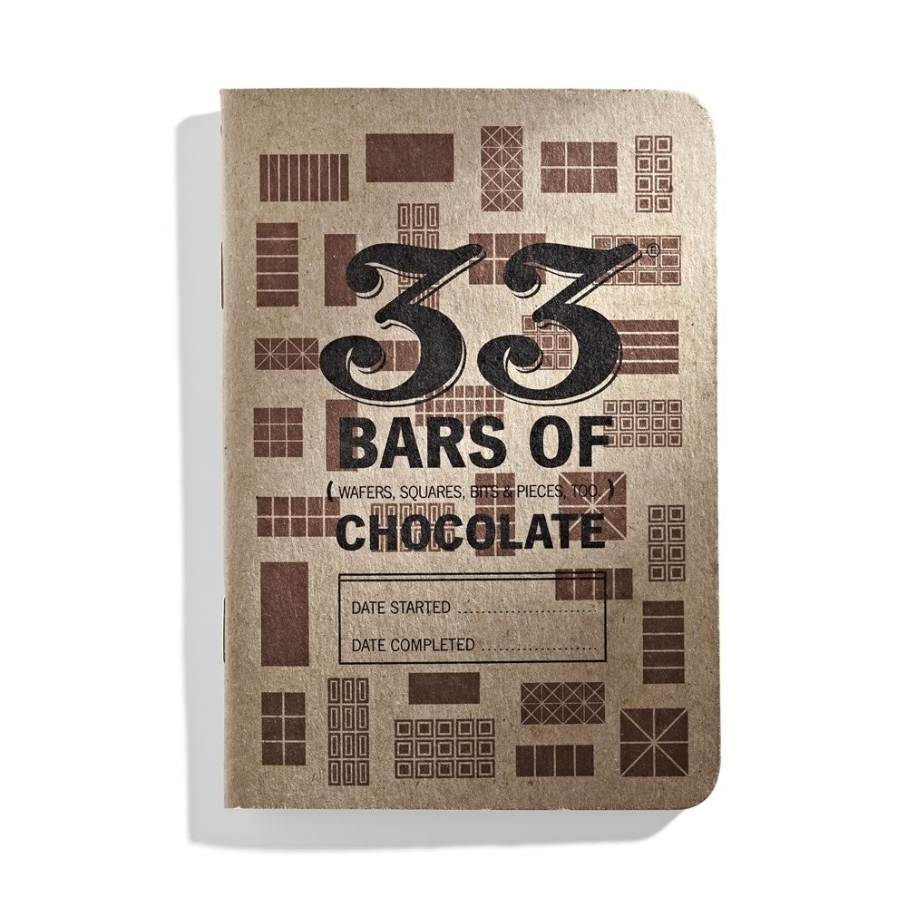 33 Chocolates: a pocket chocolate-tasting journal