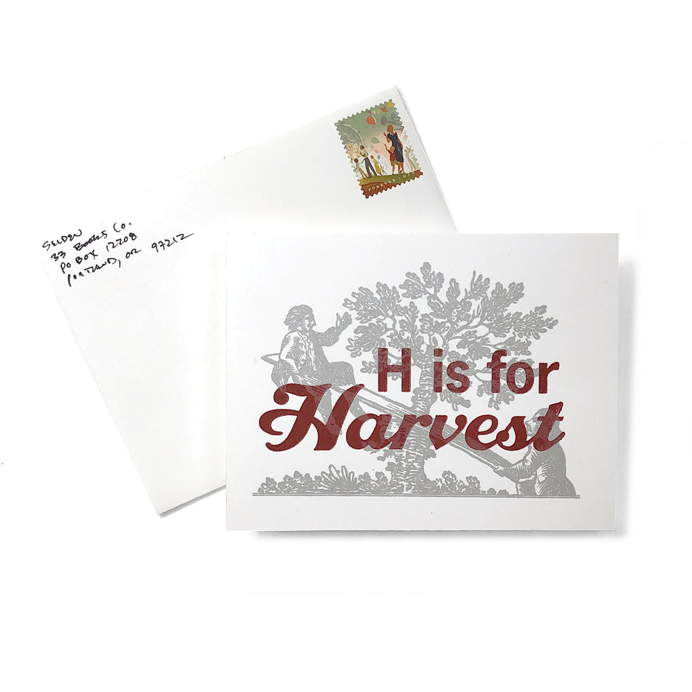 Apple Picking Request Card