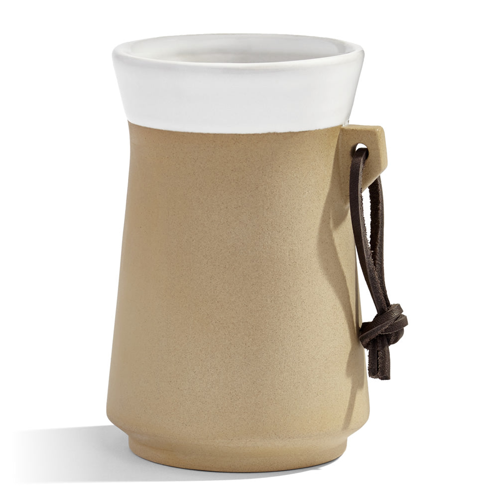 The Original Cider Mug has a non-slip ceramic exterior and keeps cider cool longer than glass.