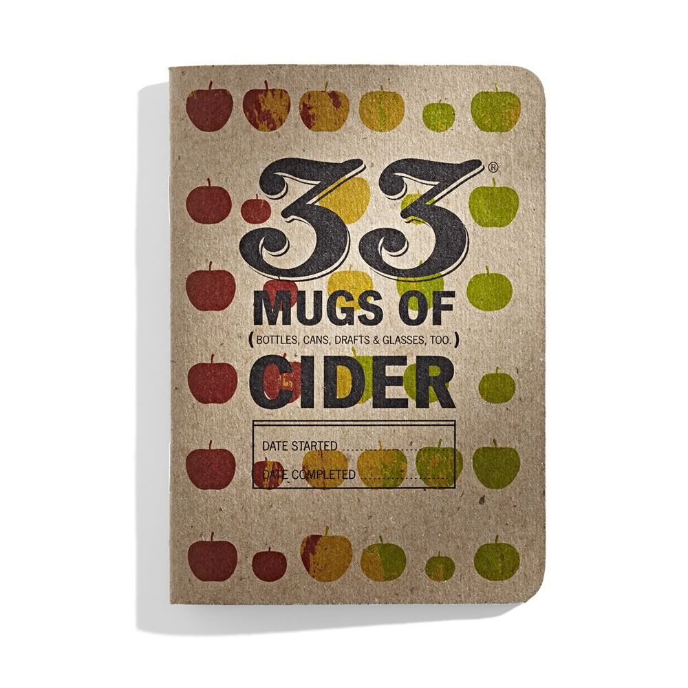 33 Mugs of Cider tasting book