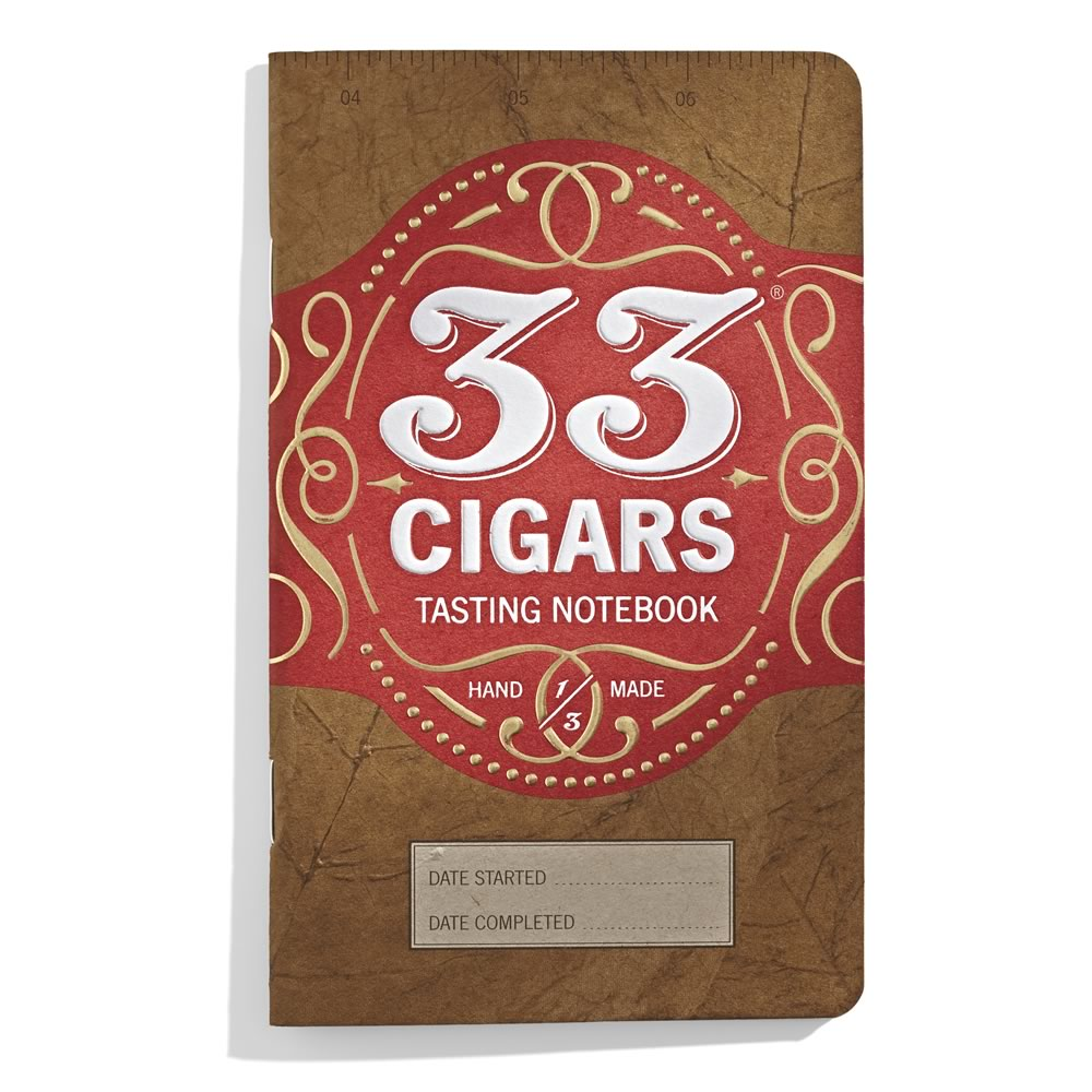 33 Cigars: pocket cigar journal