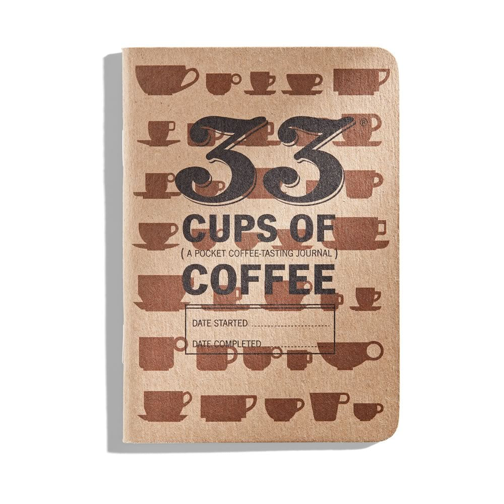33 Coffees: Pocket coffee journal