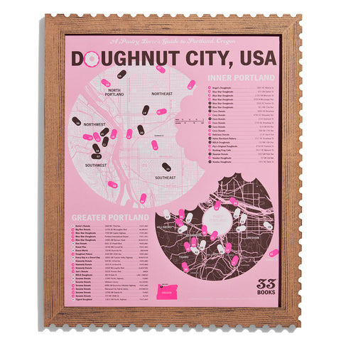 Doughnut City, USA: Portland Doughnut Tasting Map