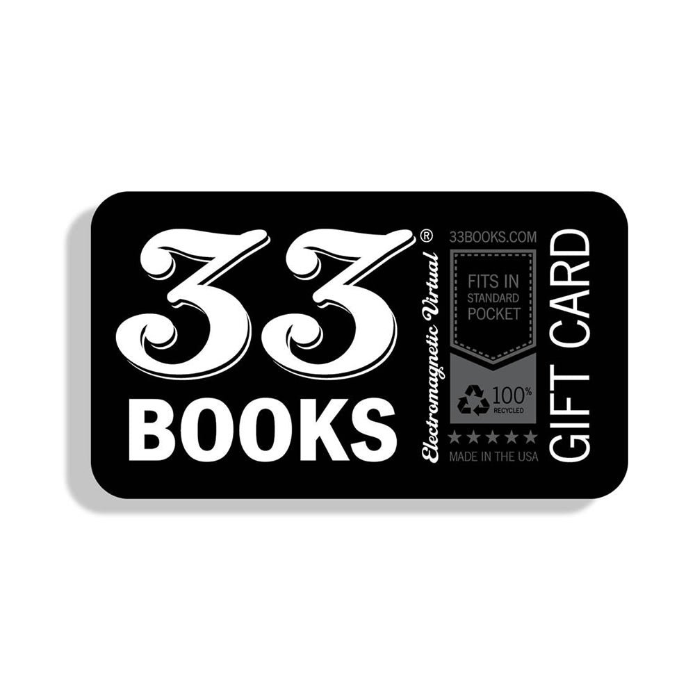 33 Books Co. Virtual Gift Card