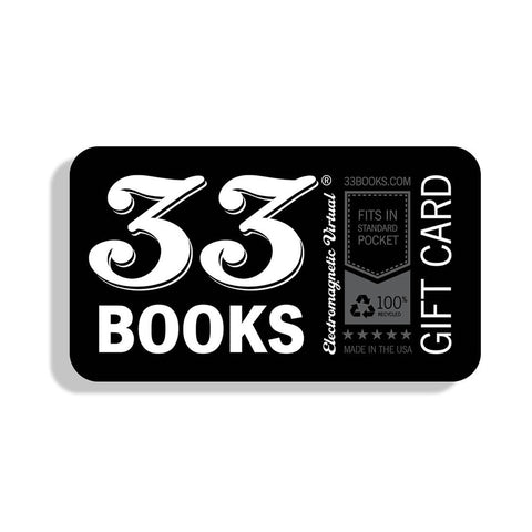 33 Books Co. Gift Card