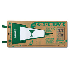 The Original Drinking Flag Kit with Gin Journal and Gin Flag