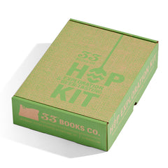 Hop Exploration Kit has packaging designed to resemble a hop bale