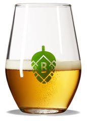 Hoppy Beer-Tasting Glass
