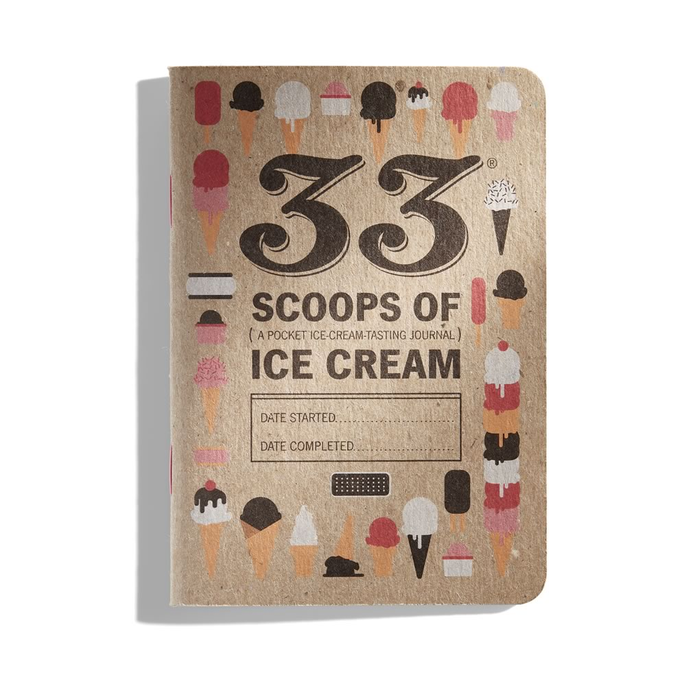 33 Scoops of Ice Cream: A Pocket Ice Cream Journal