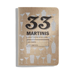33 Martinis: a pocket martini journal