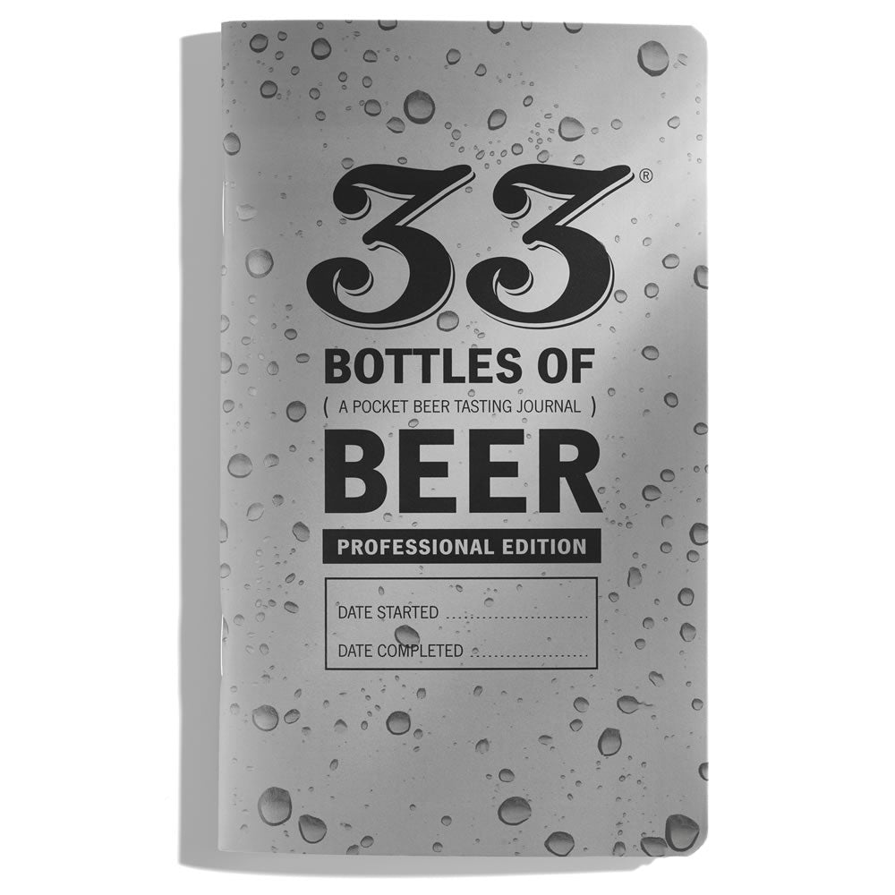 33 Beers: Pro Edition on Beer-proof Paper