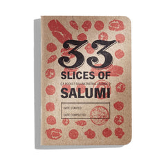 33 Slices of Salumi: a pocket salumi-tasting journal